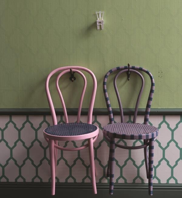 Riciclo e creatività sedie